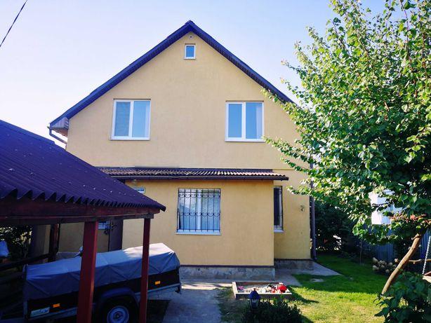 Продам 2-пов. дім з ремонтом, садом і ділянкою на 21 сот Макаров Рожів