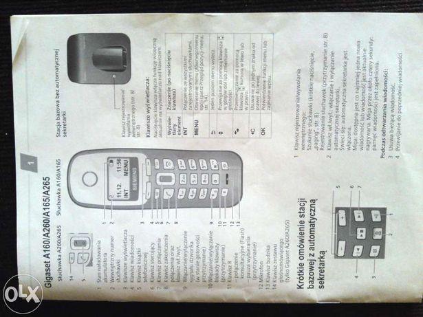 Telefon Siemens Gigaset A 260