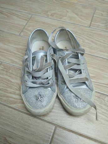 Buty rozmiar 30 posrebrzane