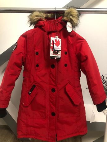 Куртка брендова для дівчинки (7/8 р) 128-134 ріст Canada Weather Gear