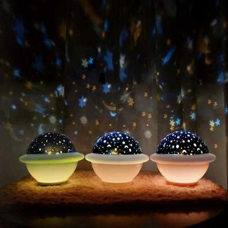 Светильник Losso Проектор звездного неба-детский ночник НЛО