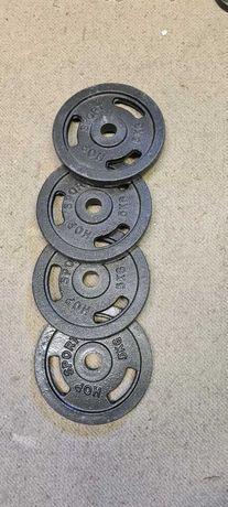 Obciążenie żeliwne 4x5 KG