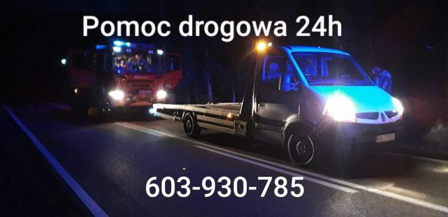 Pomoc drogowa 24H - Autolaweta - transport
