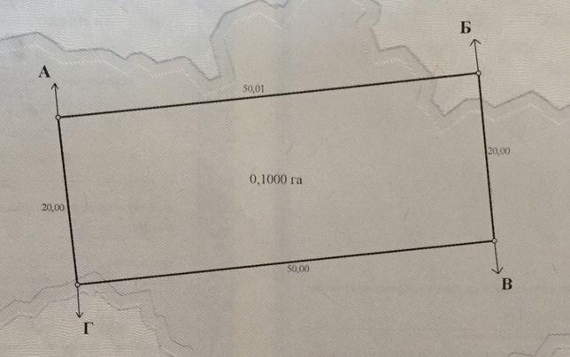Продам участок 10 соток под застройку с.Козаровичи Вышгородский р-н