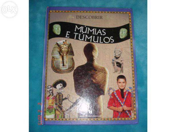 """Livro """"Múmias e Túmulos"""""""
