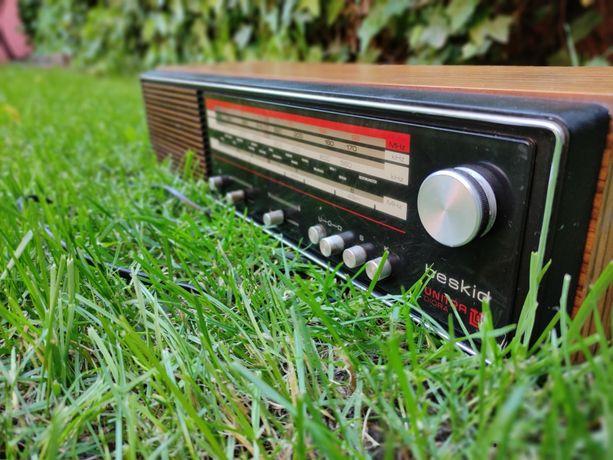 Radio Beskid UNITRA PRL zabytek działa sprawne