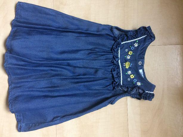Sukienka dziecięca niemowlęca NOWA MAYORAL 75 CM 6-9 miesięcy