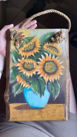 Deska słoneczniki