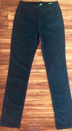 Брюки штаны вельветовые школьные Benetton школа 42 размер