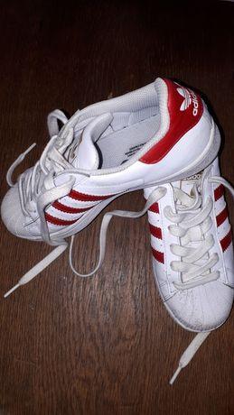 Adidas SUPERSTAR Originals 36 i 2/3 biało-czerwone
