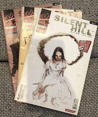 Sprzedam kokplet komiksów Silent Hill