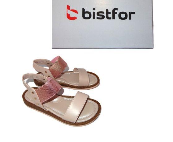 Bistfor, кожаные нежно-розовые босоножки, с 32 р по 36 р, возм примерк