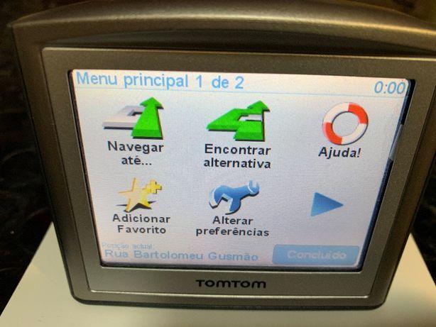 TomTom One GPS Iberia com varios extras