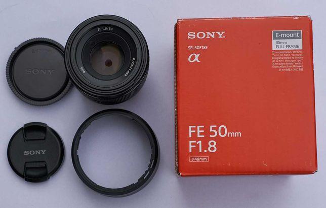 Obiektyw Sony FE 50 F1.8