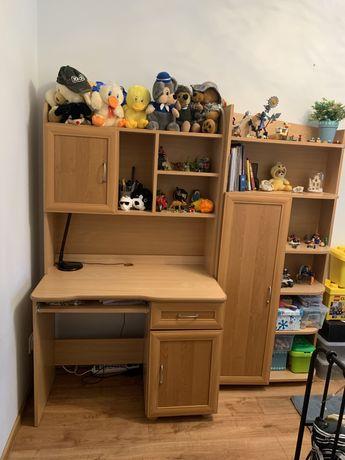 Meble młodzieżowe biurko + komoda