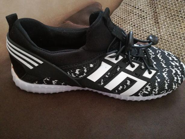 Buty czarno/białe