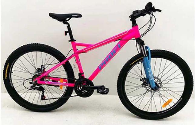 Велосипед горный Алюминиевый женский MTB SHIMANO колеса 26 дюймов