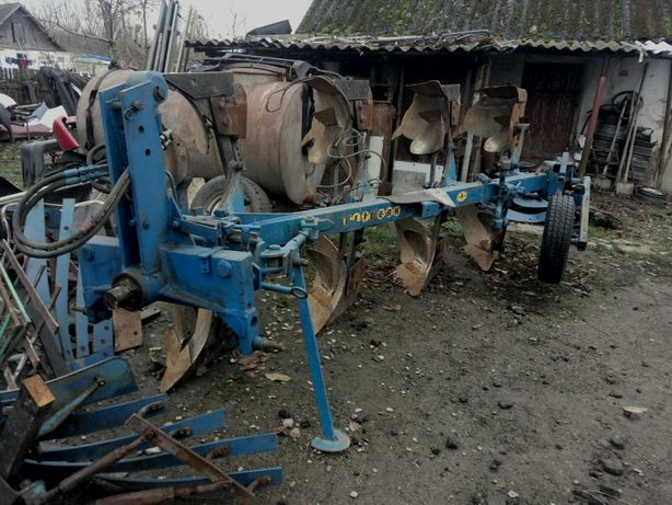 Реставрація оборотного механізму плугів Lemken Rabewerk