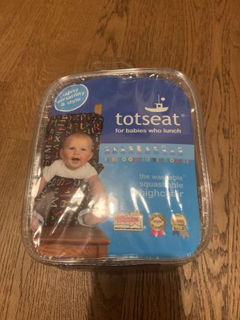 Materiałowe przenośne krzesełko dla dzieci Totseat