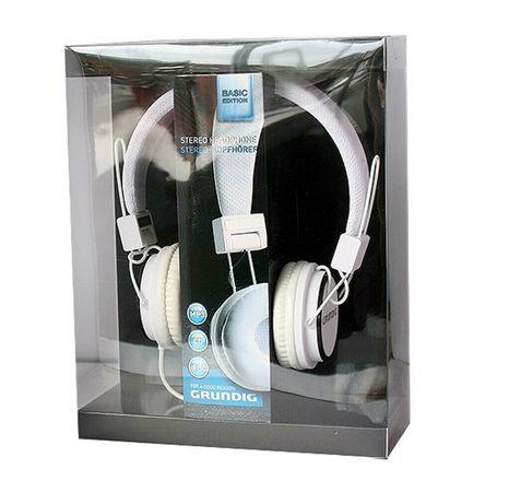 GRUNDIG 52670 Słuchawki Nauszne 105dB Białe Nowe