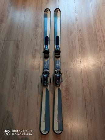 Narty damskie, męskie, 158cm, wiązania