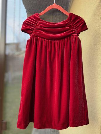 Платье бархат Autograph M&S на Новый год 3-4 года, сукня Новий рік