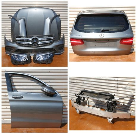 Mercedes-Benz GLC-класс W253 Капот дверь бампер крышка багажника фары