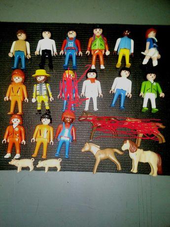 Figuras e pecas da playmobil