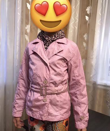 Ветровка для девочки плащик курточка