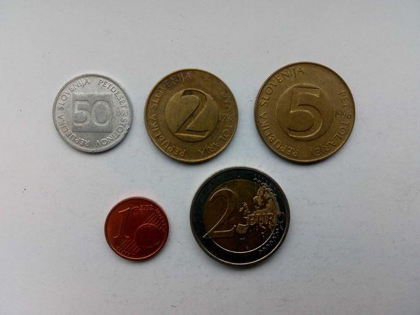 набор монет Словении