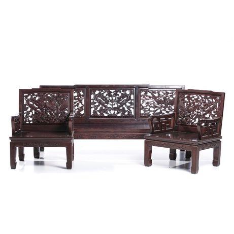 Canapé Com 2 Cadeirões Chinês