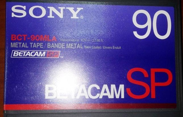 новые видеокассеты SONY Betacam SP 670м (made in France) продам обмен