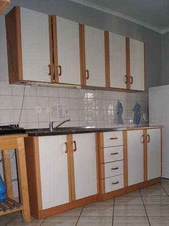 Kompletna Kuchnia Zabudowa Drewniane fronty Wyposażenie Meble kuchenne