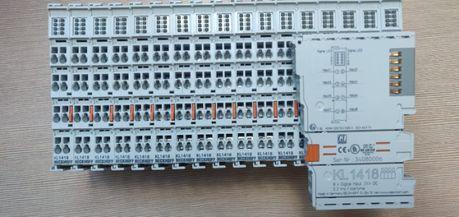 Moduły Beckhoff 1418; 2408; BK3150
