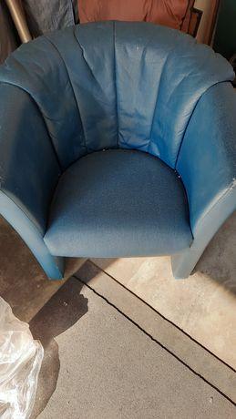 Fotel sztuczna skóra ekologiczna