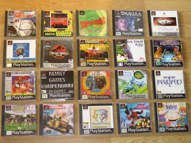 Playstation 1 / 2 / 3: Acessórios, Arcade Stick, Jogos a 3€ cada