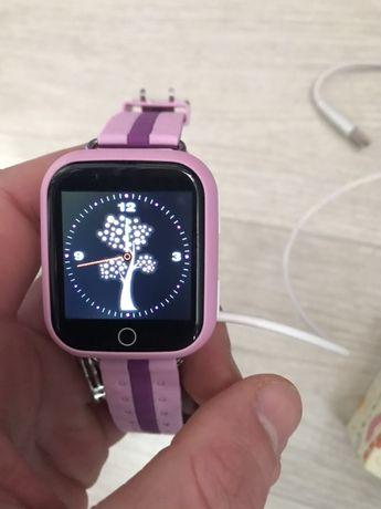 Продам детские Смарт часы smart watch q100s pink