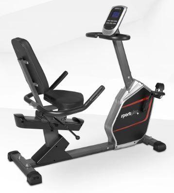 SportPlus SP-RB-9900-iE Poziomy rower treningowy