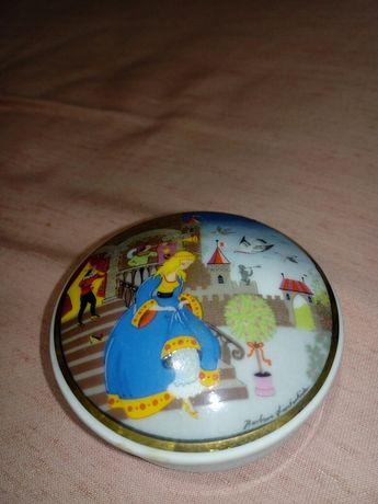 Caixa de porcelana disney
