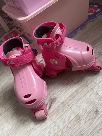 Różowe wrotki Barbie
