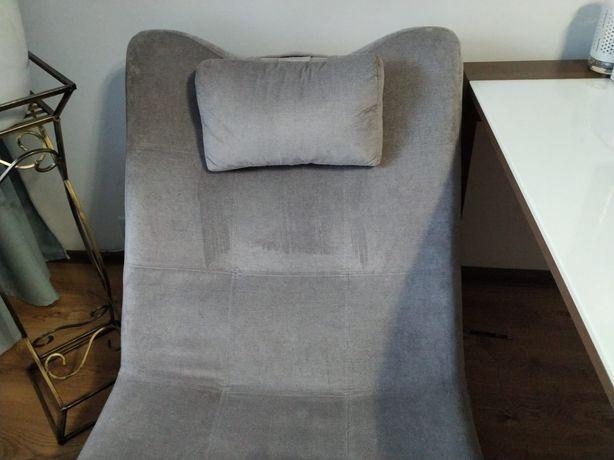 Fotel szezlong szary