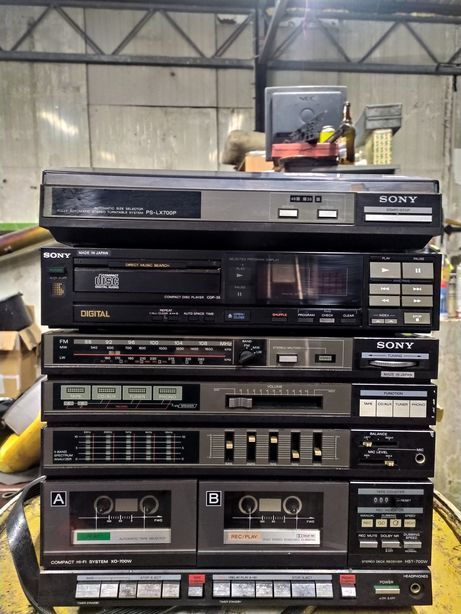 Compact HI-System XO-700W , CDP-35 , gramofon PS-LX700P
