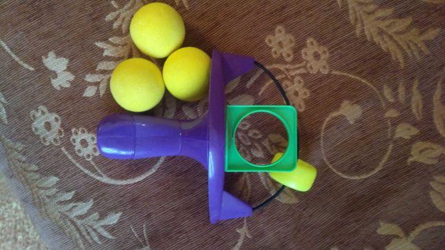 Рогатка дитяча  з 3 м'ячиками