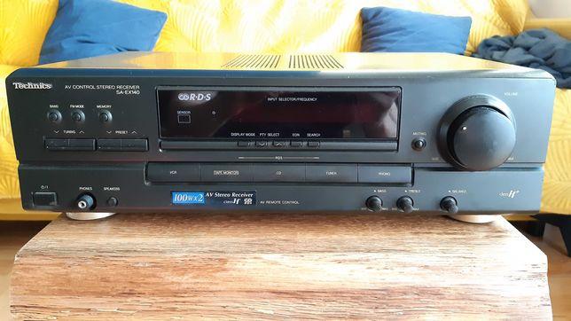 Amplituner Technics SA EX140, wzmacniacz, stereo