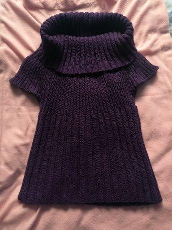 Sweterek z krótkim rękawem 38