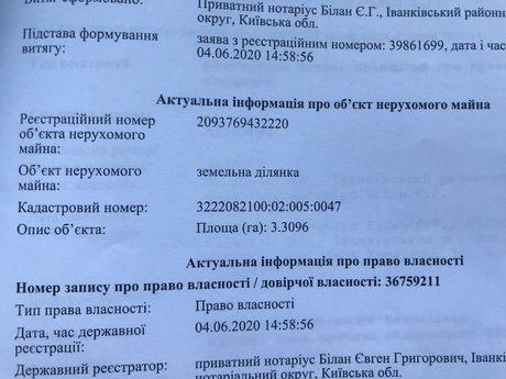 Пай 3,3 га в  Мала Макаровка, Иванковского района Киевской области.