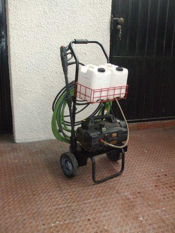Máquina Lavadora de Pressão, Modelo Turbo Quiky 8-90