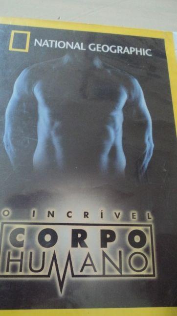 DVD-O Incrível Corpo Humano da National Geografic