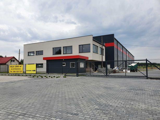 Współpraca lub wynajem hala 2000 m2 + biuro 410 m2