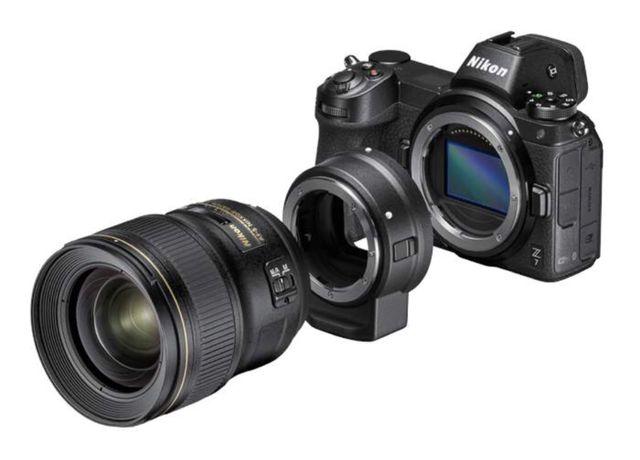 Nikon FTZ - adaptador mount Z